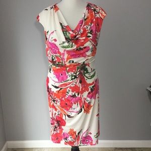 Ronni Nicole Floral Day Dress